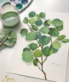 Watercolorist: @sisondesigns    #waterblog #акварель #aquarelle #drawing #art #artist #artwork #painting #illustration #watercolor #aquarela