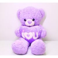 I Love U Purple Teddy