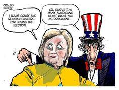 Presumptuous Politics: Hillary Clinton Cartoons