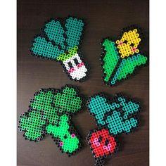 Veggies perler beads by   rr.wellness