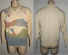 1980s 80s Sweater / Jack Nicklaus / by JewvenchyVintageshop