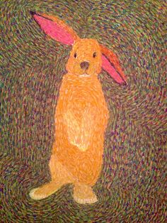 Easter Bunny by Charity Troy.  Blog post about the process and link to purchase.  Happy Easter!