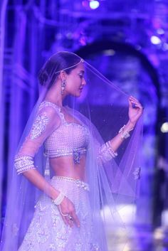 Tarun Tahiliani's Collection at the Aamby Valley India Bridal Fashion Week, 2013