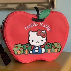 bab073616 Hello Kitty Apple Crossbody x Loungefly