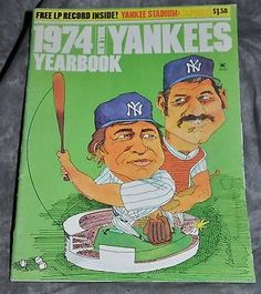 Bobby Murcer Autographed 1974 New York Yankees Yearbook