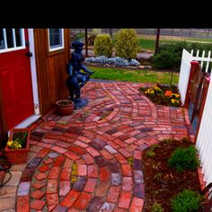 Nice brick work