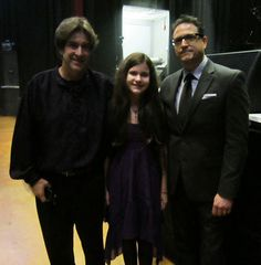 Al Conti with Billboard charting, award winning artist Randy Copus, of the band 2002, and his daughter Sarah Copus at the ZMR Music Awards Show, 2015