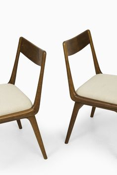 Alfred Christensen Boomerang Dining Chairs At Studio Schalling