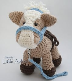 Alfalfa the Horse by Bailee Wellisch crochet pattern