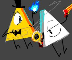 Bill Cipher and Yung Venuz