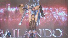 Cinthia Fernández hizo vibrar la pista del Bailando con su cuarteto