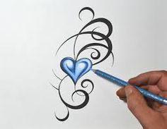 Bildergebnis für heart and little hearts tattoo behind ear