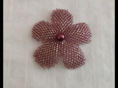 DIY/TAKI TASARIM TUĞLA TEKNİĞİ İLE ÇİÇEK YAPIMI/MAKING A BEAD FLOWER - YouTube Beaded Flowers, Beaded Jewelry, Make It Yourself, Beads, Blog, Diy, Youtube, Flowers, Jewerly