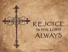 Rejoice in the Lord always! - Alegrar-se sempre no Senhor! - http://www.facebook.com/photo.php?fbid=439694049432688=a.117823451619751.17678.111431932258903=1_count=1 - 318047_439694049432688_1031363317_n.jpg (500×388)