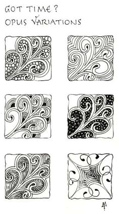 Zentangle Patterns Step by Step | News from Zentangle