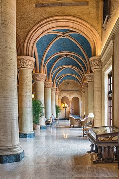 Biltmore Hotel, Coral Gables by Brian McCloud Spanish Revival, Coral Gables, Gothic Architecture, Best Hotels, Barcelona Cathedral, Taj Mahal, Exterior, Mansions, House Styles
