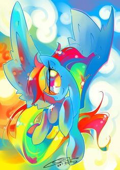 Buy Awsome, Digital Art by Io Zarate on Artfinder. Discover thousands of other original paintings, prints, sculptures and photography from independent artists. Paintings For Sale, Original Paintings, Mlp My Little Pony, Aboriginal Art, Rainbow Dash, Simple Art, Pattern Wallpaper, Lovers Art, Pet Birds