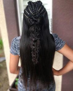 By @PrettyHStyle3029  #hair #hairstyle #braids  #longhair #stackbraid  #peinado #hairstyle #trenzado