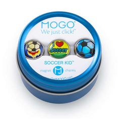MOGO Charm Collections Soccer Kid