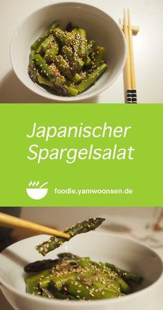 Japanischer Spargelsalat