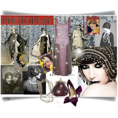 """""""1920s Glamour - Photoplay Magazine"""" by mcheffer on Polyvore"""