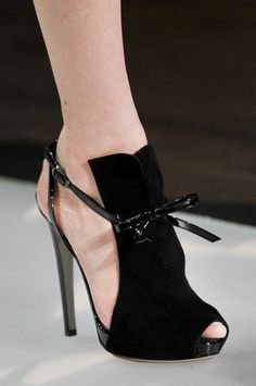 *.* Emporio Armani 'Aline' Milan Fashion Week Spring 2012<---- OMG yes yes yes I want these. Armani and dior have the best shoes!