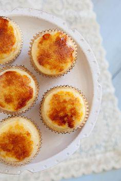 Cupcakes de Creme Brûlée! Chique bem!