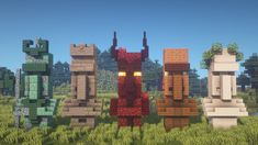 I built 5 new Villager Statue designs! [Including Tutorial] : Minecraftbuilds - Minecraft, Pubg, Lol and Minecraft Plans, Minecraft Room, Minecraft Survival, Minecraft Tutorial, Minecraft Blueprints, Cool Minecraft Houses, Minecraft Crafts, Minecraft Buildings, Minecraft Elevator