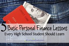 personal finance lessons for high school students