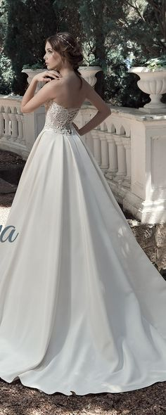 Milva Bridal Wedding Dresses 2017 Alfreda3 / http://www.deerpearlflowers.com/milva-wedding-dresses/8/