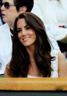 Kate Middleton's Perfect Dark Chocolate Brown Wavy Hair