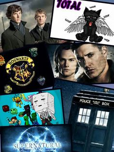 A collage of a few of my fandoms. Give me credit if you repin