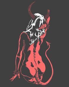 Bad Girl Aesthetic, Red Aesthetic, Aesthetic Pictures, Mothers Day Drawings, Satanic Art, Arte Obscura, Dark Art Drawings, Demon Art, Arte Horror
