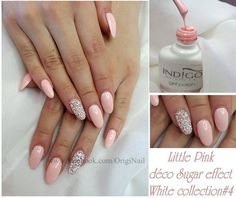 by OrigiNail, France, Follow us on Pinterest. Find more inspiration at www.indigo-nails.com #nailart #nails #indigo #pastel