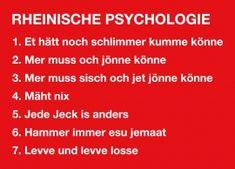 Postkarte: Rheinische Psychologie