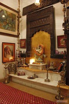 Elaborate Puja Room