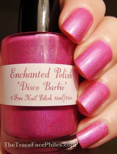 Enchanted Polish Disco Barbie