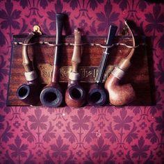 Sherlock Holmes' pipes