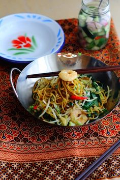 Indonesian Mee Goreng , (with acar) recipe