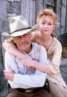 "Diane Lane & Robert Duvall in ""Lonesome Dove"""