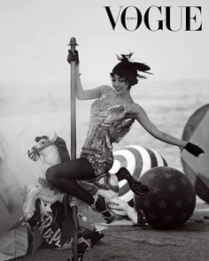 Lee Hyori // Vogue Korea // May 2013