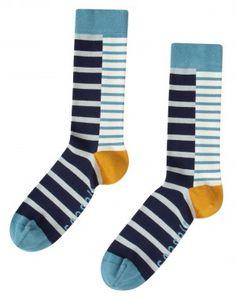 Seasalt Cornwall Sailor Socks Herren Breton Mix Marine #hanseheld #gestreift #geringelt