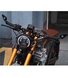 Flat Design CNC Bar End Mirror Type 1 Full Face Motorcycle Helmets, Motorcycle Mirrors, Motorcycle Headlight, Helmet Shop, Cafe Racer Parts, New Motorcycles, Rear View Mirror, Fashion Branding, Flat Design