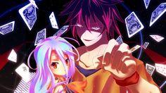 Anime No Game No Life  Sora (No Game No Life) Shiro (No Game No Life) Papel de Parede