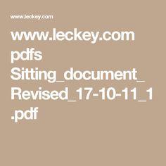 www.leckey.com pdfs Sitting_document_Revised_17-10-11_1.pdf