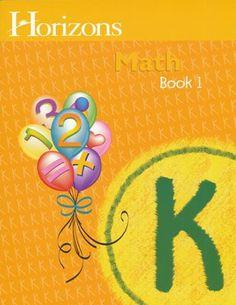 Horizons Math, Grade K, Student Workbook 1   -     By: Alan Christopherson