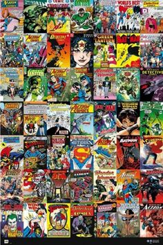 DC Comics Covers Poster Print (24 x 36) - Item # XPE160465