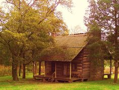 Settlers Cabin | Settlers Cabin In Tennessee Painting