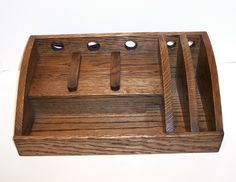Charging Station / Docking Station in Oak with Ebony by tomroche, $80.00