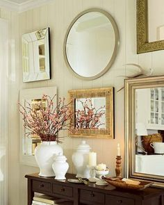 mirror gallery-I love this!